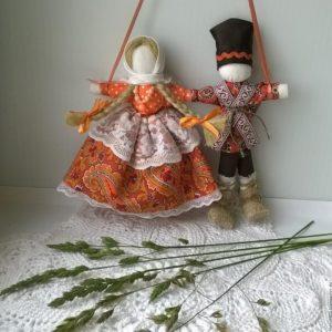 Свадебная кукла Неразлучники