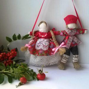 Свадебная кукла Неразлучники. Любовь